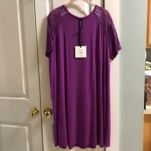 Agnes & Dora lace sleeve swing dress NEW XXL